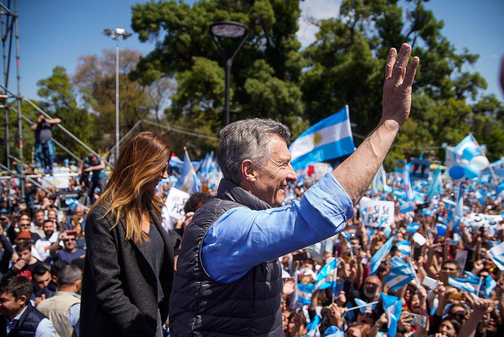 Mauricio Macri en Mendoza