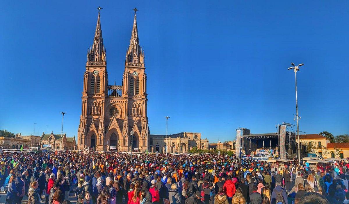 Monseñor Vázquez, en la misa por la Peregrinación a Luján: El pueblo no quiere más grietas ni enfrentamientos