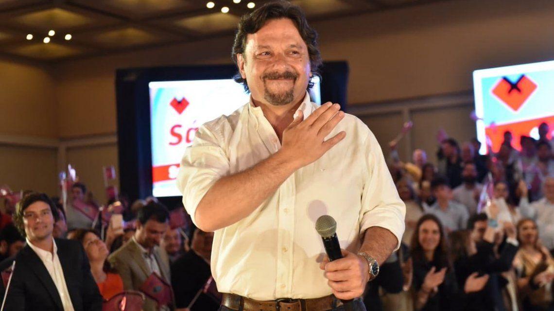 Con casi el 54% de los votos, Gustavo Sáenz se convirtió en gobernador electo de Salta