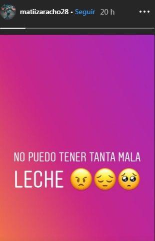 El descargo de Matías Zaracho tras quedarse afuera de la lista de Argentina por lesión