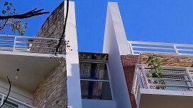 Edificio de donde cayó Ezequiel