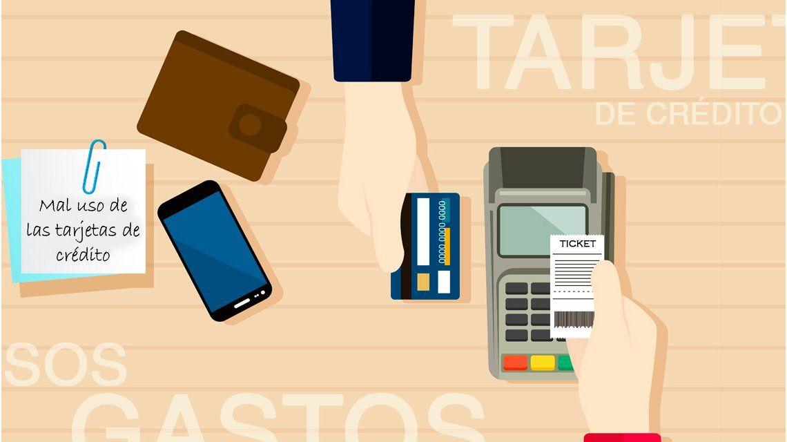 ¿Por qué evitar hacer el pago mínimo de la tarjeta?