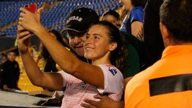 Un hincha abusó de la futbolista Sofía Huerta en plena tribuna