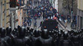 Dos muertos por la represión de las protestas contra el ajuste de Lenín Moreno y el FMI
