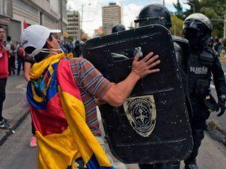 denunciaron 83 arrestos irregulares tras las protestas del martes en ecuador