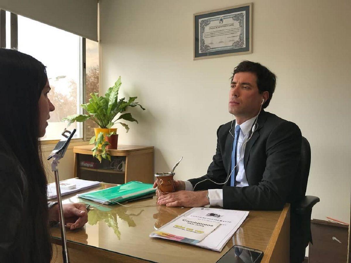 Concejal Gabriel DAmico