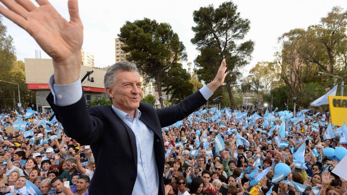 Mauricio Macri en Neuquén