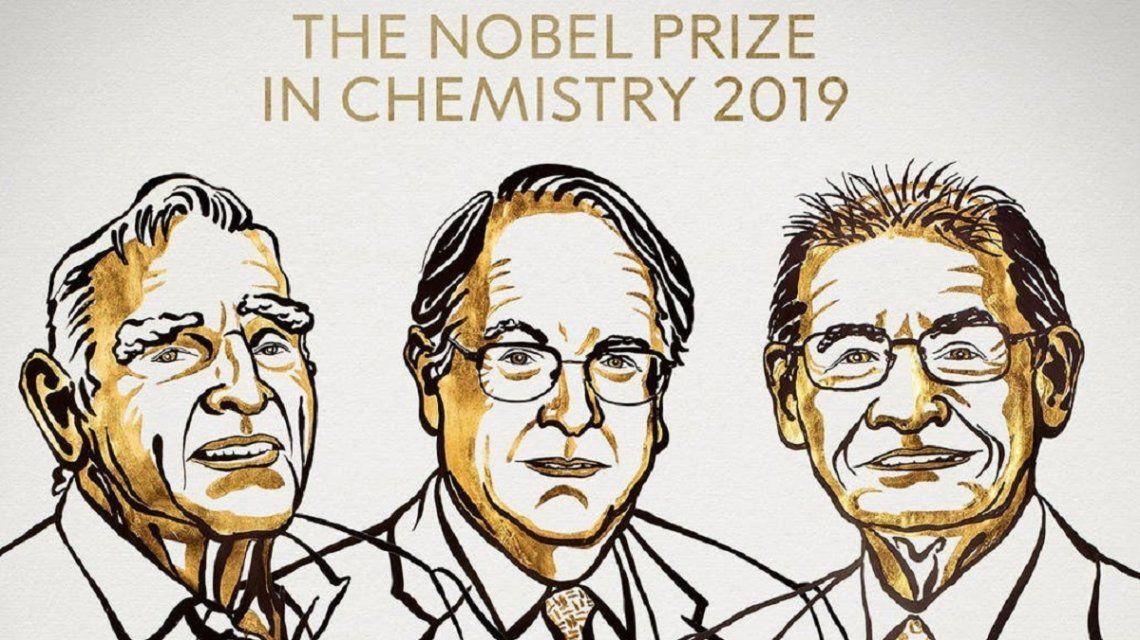Premio Nobel de Química 2019: premiaron a John Goodenough, Stanley Whittingham y Akira Yoshino