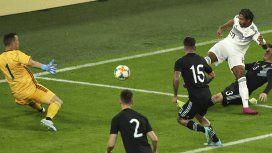 Sin Messi y con sufrimiento, Argentina empató con Alemania en Dortmund