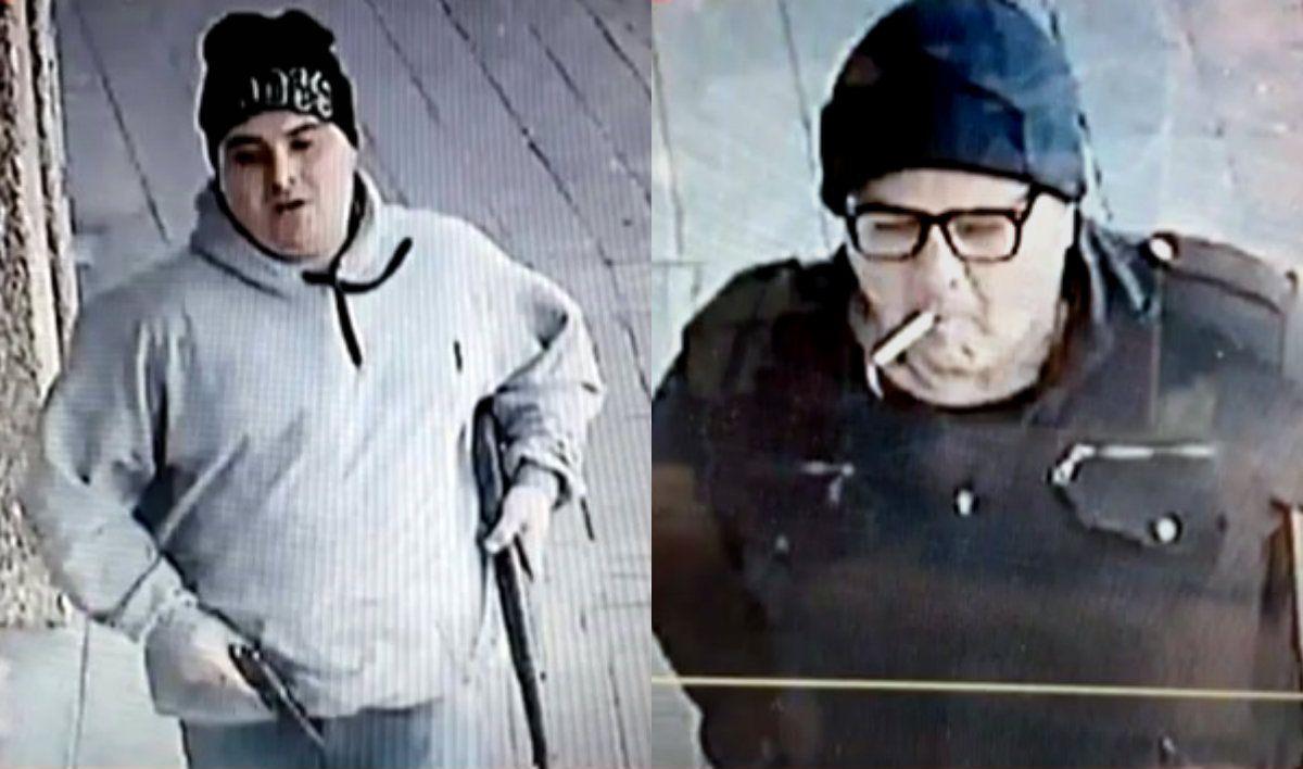 Dos de los seis ladrones que interceptaron a los empleados de Prosegur