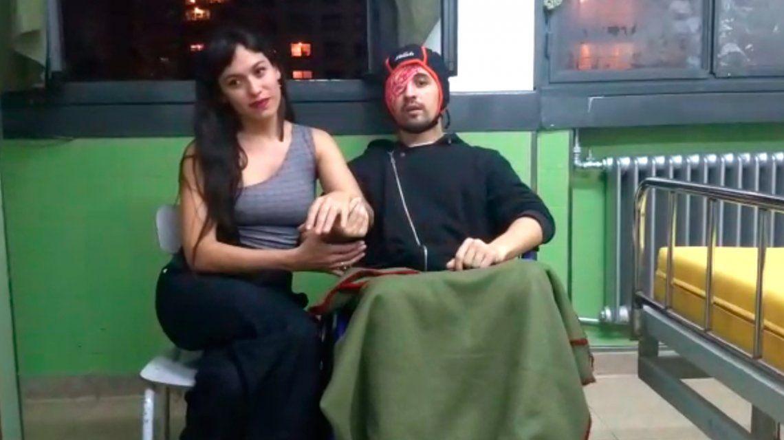 Santiago Siciliano, el agente atropellado por Eugenio Veppo, rompió el silencio y grabó un video