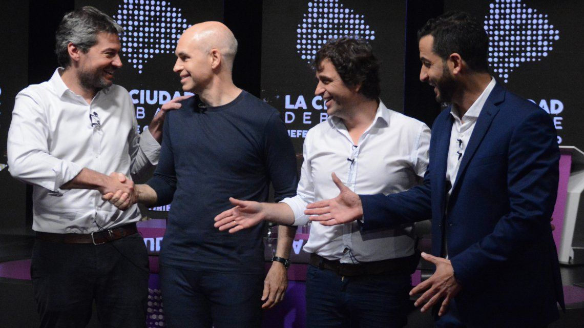 Los cuatro candidatos