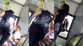 ¡Qué saludás, si vos no tenés amigas!: el video viral de una mujer que violenta a su pareja