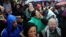 Suspendieron el acto de apertura del Encuentro Nacional de Mujeres por la tormenta