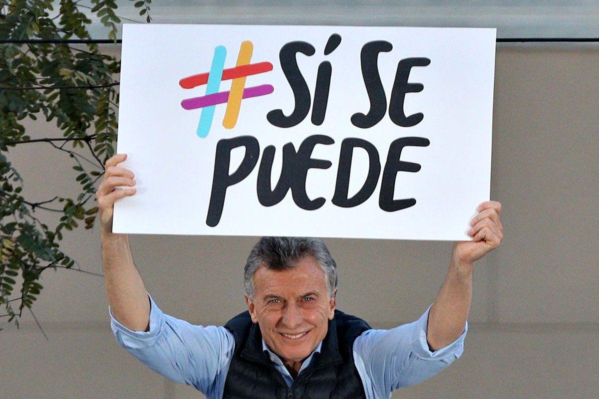 Pese a las marchas del Sí, se puede, cae la imagen de Macri