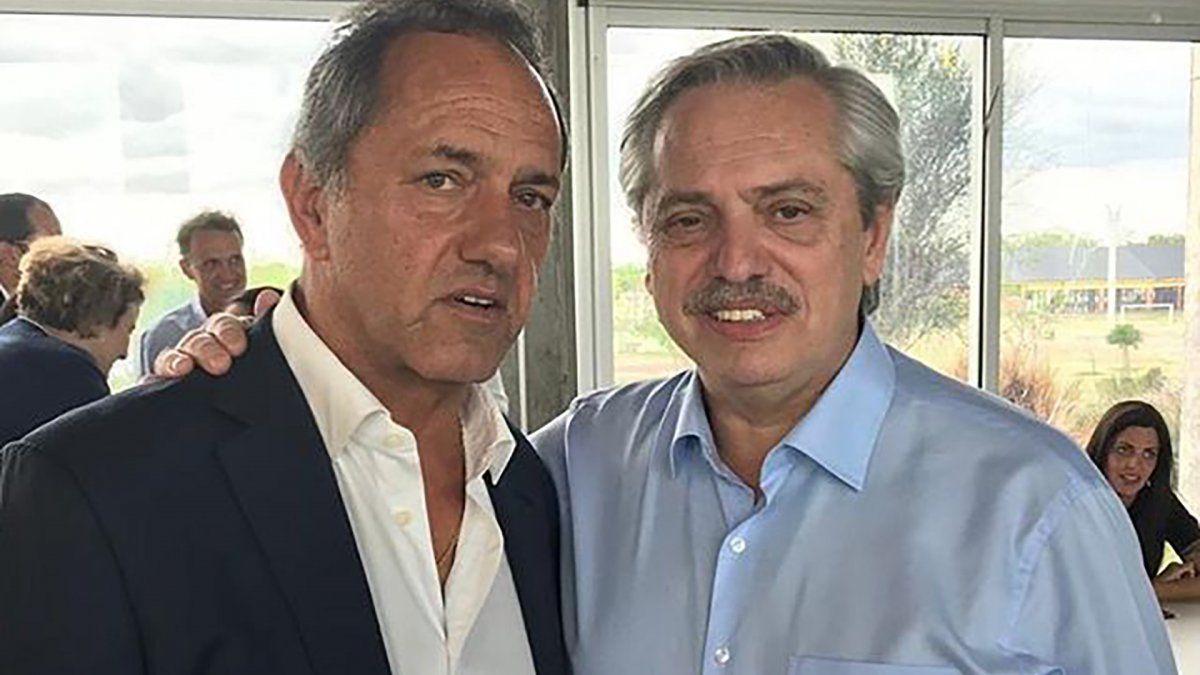 Daniel Scioli, el invitado sorpresa de Alberto Fernández para el debate