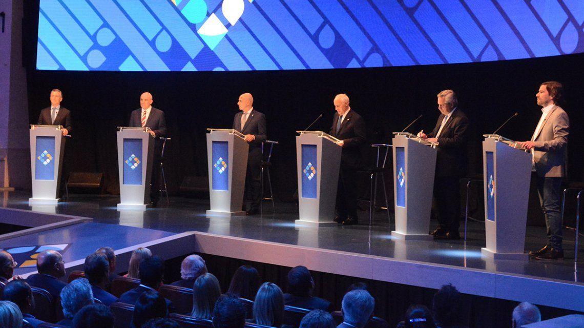 EN VIVO: Arrancó el histórico debate presidencial