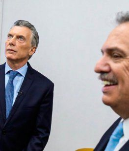 Alberto fue a buscar a un pálido Macri que no tuvo reacción en el debate
