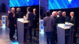 VIDEO: El resultado del debate, resumido en el saludo del final entre los candidatos