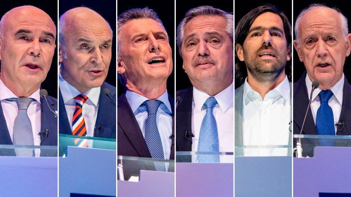 Comunicación no verbal: lo que dijeron los candidatos con su cuerpo en el debate presidencial