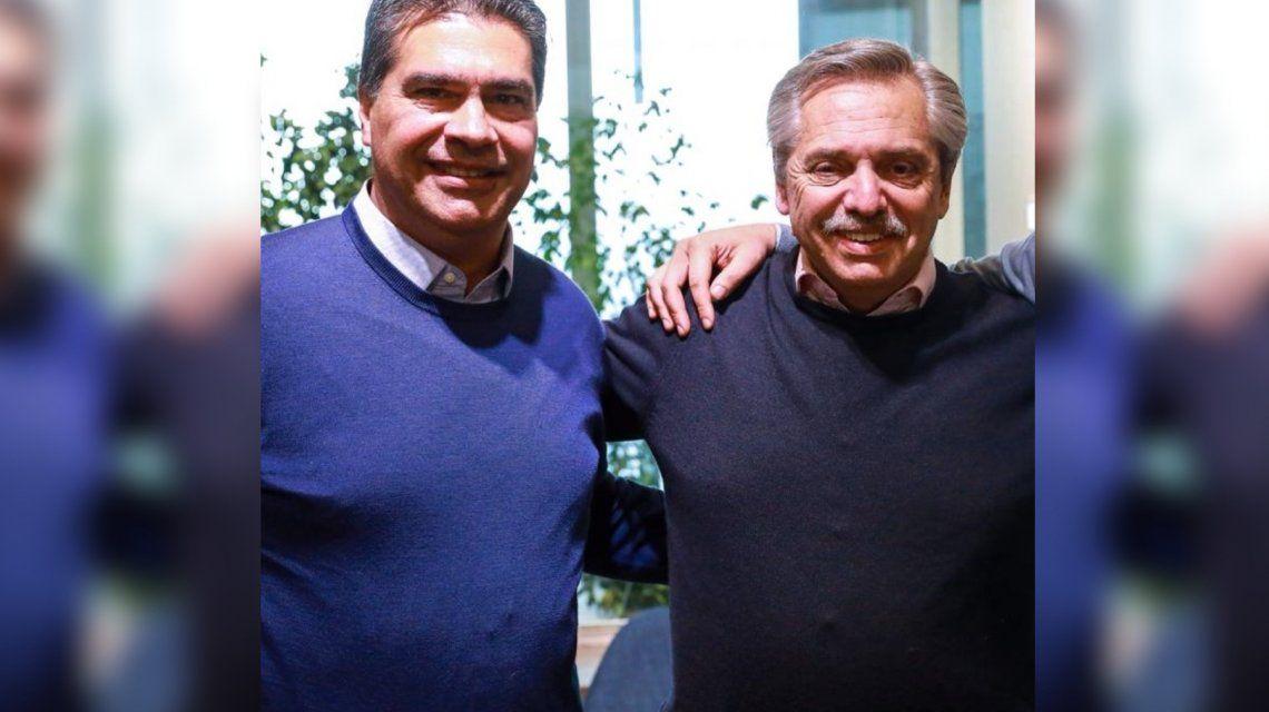 Alberto Fernández felicitó a Capitanich por su victoria en Chaco