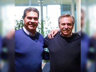 alberto fernandez felicito a capitanich por su victoria en chaco