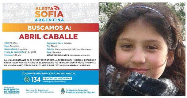Ofrecen $2 millones de recompensa para encontrar a Abril Caballe