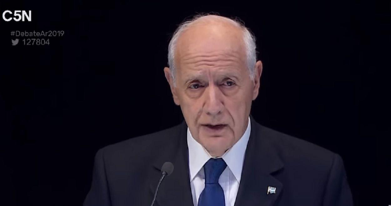 Roberto Lavagna admitió que estuvo incómodo durante el debate presidencial