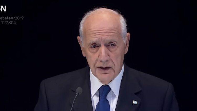 Lavagna admitió que estuvo incómodo durante el debate presidencial