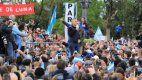 Macri, en la marcha de Entre Ríos: insistió con que ahora viene la creación de empleo