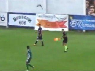 video: un ataque de teros obligo a detener el partido entre laferrere y merlo durante seis minutos