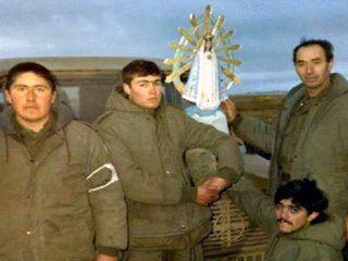 un ex combatiente de malvinas viajara al vaticano para recuperar la virgen que lo acompano en la guerra