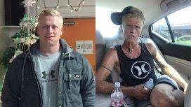 Una madre mostró cómo cambió su hijo tras siete meses de consumo de drogas