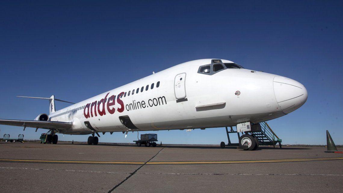 Aeronavegantes anunciaron un paro de una semana en Andes Líneas Aéreas
