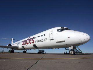 aeronavegantes anunciaron un paro de una semana en andes lineas aereas