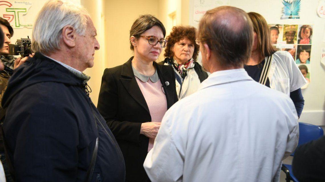 Marziotta recorrió los hospitales Pirovano y Tornú: preocupación por el deterioro y la falta de medicamentos
