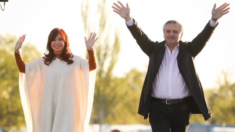 Alberto Fernández y Cristina Kirchner, juntos: Estamos muy cerca, pero no hemos llegado