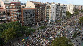 Barcelona: al menos 35 heridos y 128 detenidos tras una marcha por la independencia de Cataluña