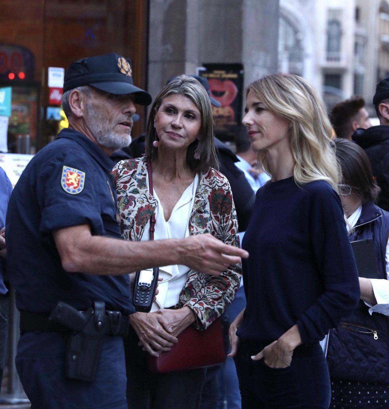 Catalanes le gritan argentina como insulto a la vocera del Partido Popular de España