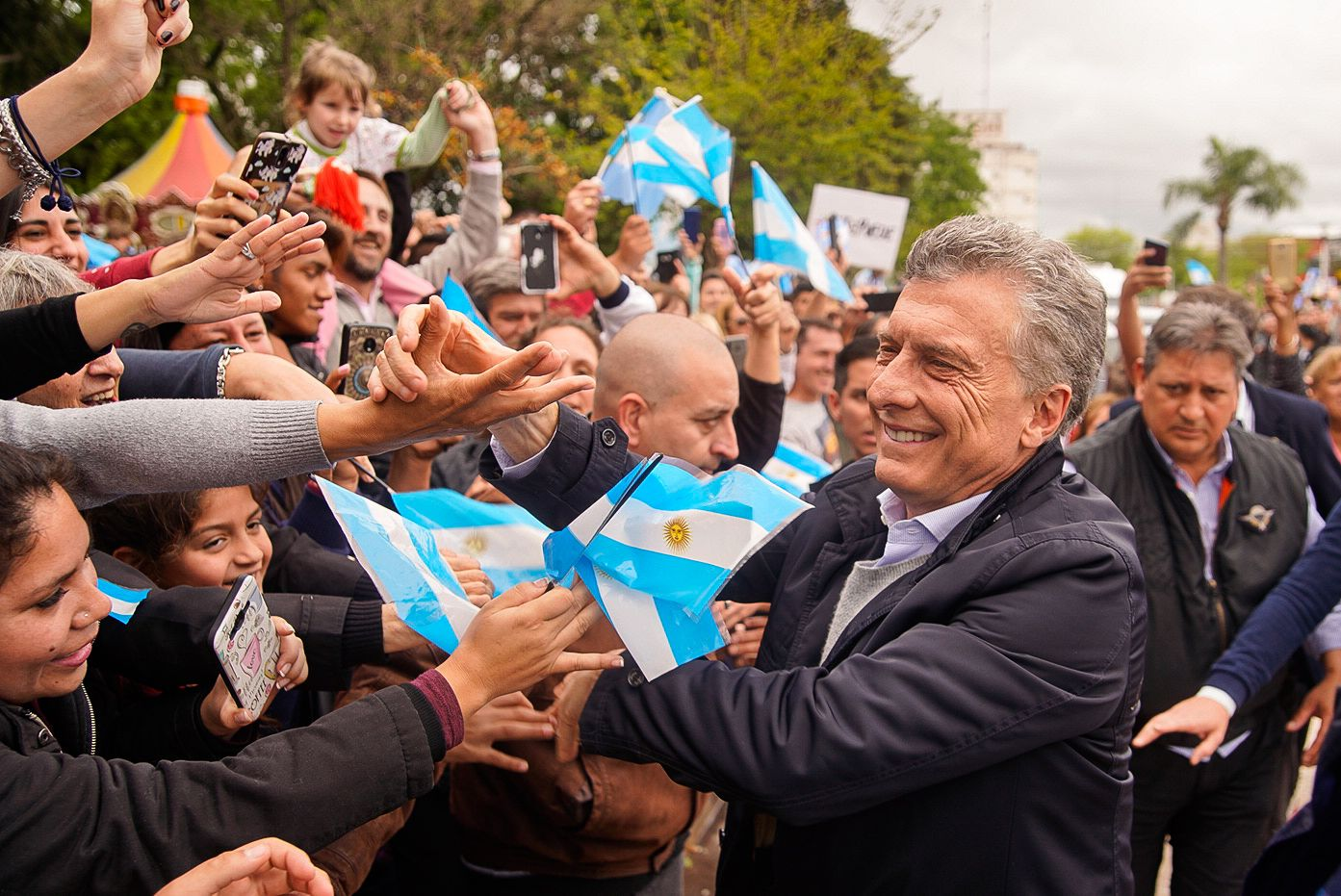 Macri llamó a un acto de despedida para el 7 de diciembre en la Plaza de Mayo