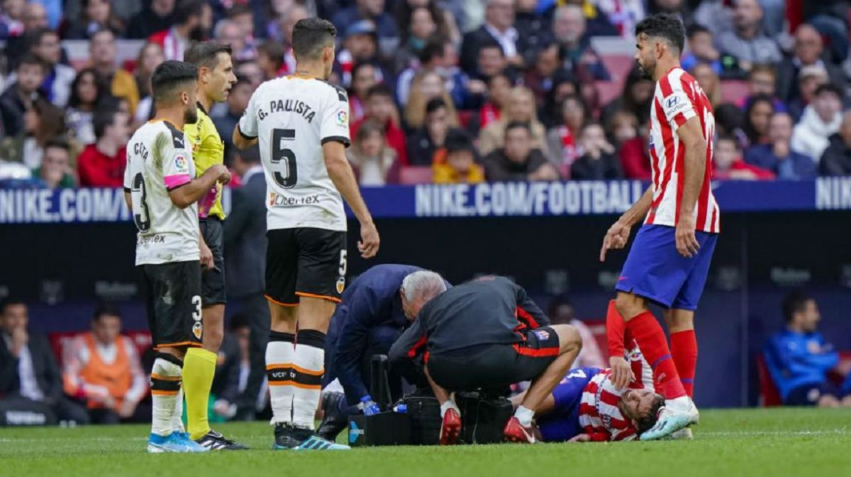 Joao Félix se retiró lesionado y se encienden las alarmas en el Atlético de Madrid