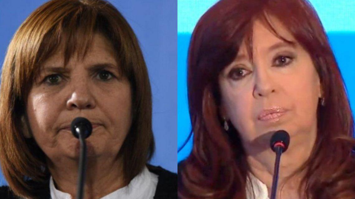 Patricia Bullrich defendió a Mauricio Macri: La machirula es Cristina Kirchner