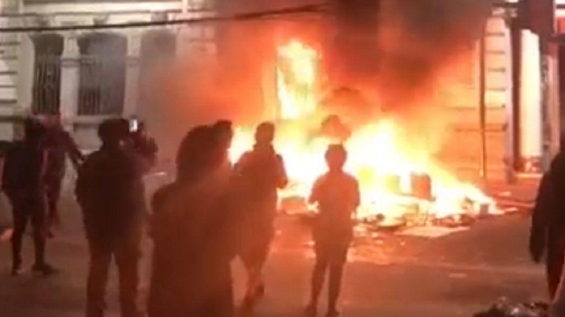 Chile: al menos tres muertos durante el toque de queda que decretó el ejército