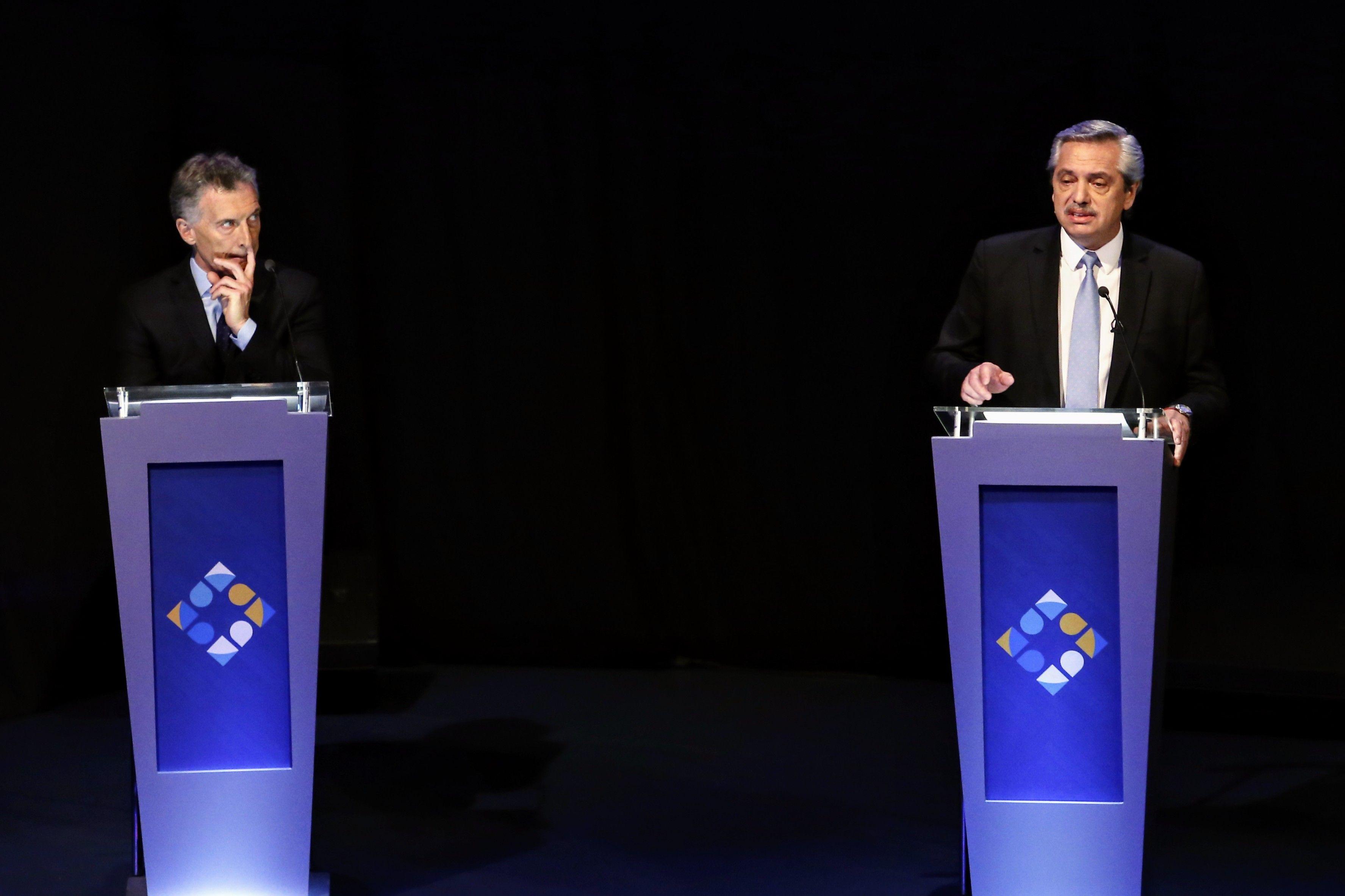 Macri-Alberto, el debate dentro del debate que subió de tono a una semana de las elecciones