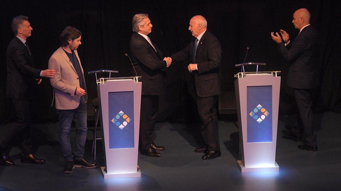 Encuesta: lo que dejó el debate presidencial