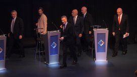 Tras el segundo debate presidencial ¿se saludaron Alberto Fernández y Macri?