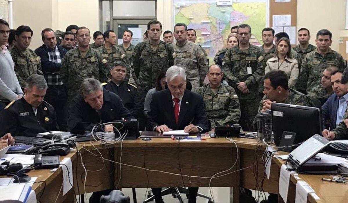 Piñera redobla la apuesta contra los manifestantes: Estamos en guerra