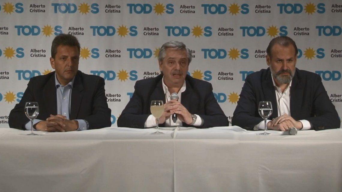 Alberto Fernández le pidió a Macri que, si pierde, no se enoje otra vez y no maltrate a los argentinos