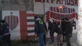Detuvieron a parte de la barrabrava de Chacarita: tenían drogas
