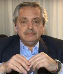 Alberto Fernández y la crisis en Chile: Hay un punto donde la gente reacciona y se planta frente al gobierno